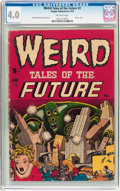 Golden Age (1938-1955):Horror, Weird Tales of the Future #2 (Aragon, 1952) CGC VG 4.0 Off-whitepages....