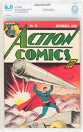 Golden Age (1938-1955):Superhero, Action Comics #19 (DC, 1939) CBCS FN 6.0 Off-white to white pages....