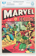 Golden Age (1938-1955):Superhero, Marvel Mystery Comics #12 Recil Macon Pedigree (Timely, 1940) CBCS VF+ 8.5 Off-white pages....