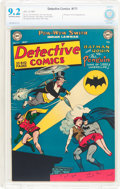 Golden Age (1938-1955):Superhero, Detective Comics #171 (DC, 1951) CBCS NM- 9.2 Off-white to white pages....