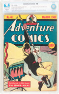 Golden Age (1938-1955):Superhero, Adventure Comics #48 (DC, 1940) CBCS Restored FN+ 6.5 Slight (A) Off-white to white pages....