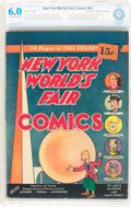Golden Age (1938-1955):Superhero, New York World's Fair Comics 1939 15¢ Price Sticker Edition (DC, 1939) CBCS FN 6.0 Off-white to white pages....