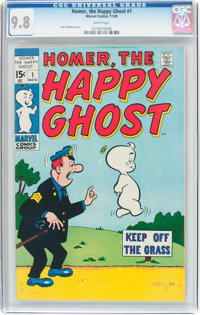 Homer, the Happy Ghost V2#1 (Marvel, 1969) CGC NM/MT 9.8 White pages