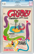 Silver Age (1956-1969):Humor, Groovy #1 Oakland Pedigree (Marvel, 1968) CGC NM/MT 9.8 White pages....