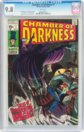 Silver Age (1956-1969):Horror, Chamber of Darkness #1 (Marvel, 1969) CGC NM/MT 9.8 White pages....