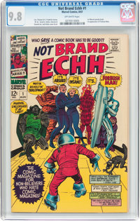 Not Brand Echh #1 (Marvel, 1967) CGC NM/MT 9.8 Off-white pages