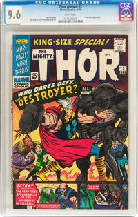 Thor Annual #2 (Marvel, 1966) CGC NM+ 9.6 White pages