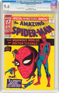 Silver Age (1956-1969):Superhero, The Amazing Spider-Man Annual #2 (Marvel, 1965) CGC NM+ 9.6Off-white to white pages....