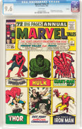 Silver Age (1956-1969):Superhero, Marvel Tales #1 Curator Pedigree (Marvel, 1964) CGC NM+ 9.6 White pages....