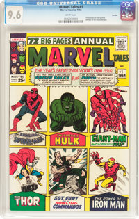 Marvel Tales #1 Curator Pedigree (Marvel, 1964) CGC NM+ 9.6 White pages