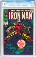 Silver Age (1956-1969):Superhero, Iron Man #1 (Marvel, 1968) CGC NM/MT 9.8 White pages....