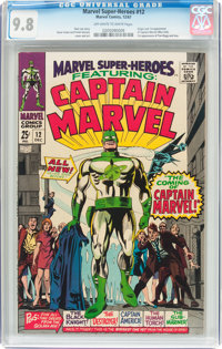 Marvel Super-Heroes #12 (Marvel, 1967) CGC NM/MT 9.8 Off-white to white pages