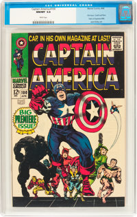 Captain America #100 (Marvel, 1968) CGC NM/MT 9.8 White pages