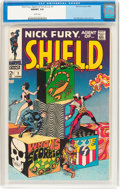 Silver Age (1956-1969):Superhero, Nick Fury, Agent of S.H.I.E.L.D. #1 (Marvel, 1968) CGC NM/MT 9.8 White pages....