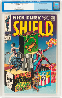 Nick Fury, Agent of S.H.I.E.L.D. #1 (Marvel, 1968) CGC NM/MT 9.8 White pages