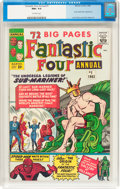Silver Age (1956-1969):Superhero, Fantastic Four Annual #1 (Marvel, 1963) CGC NM+ 9.6 Off-white pages....