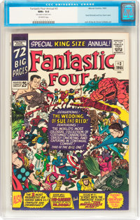 Fantastic Four Annual #3 (Marvel, 1965) CGC NM+ 9.6 Off-white pages