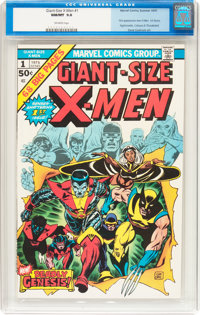 Giant-Size X-Men #1 (Marvel, 1975) CGC NM/MT 9.8 Off-white pages
