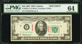 Small Size:Federal Reserve Notes, Specimen Fr. 2065-F $20 1963 Federal Reserve Note. PMG Choice Uncirculated 64.. ...