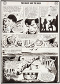 Original Comic Art:Panel Pages, Joe Kubert Brave and the Bold #44 Story Page 7 HawkmanOriginal Art (DC, 1962)....