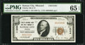 National Bank Notes:Missouri, Kansas City, MO - $10 1929 Ty. 1 Fidelity NB & TC Ch. # 11344....