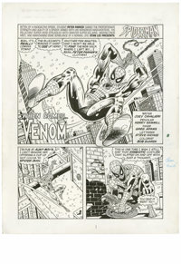 """Kerry Gammill and Greg Adams - Spider-Man Magazine Spring 1995, Complete 6-page Story """"When Comes... Venom"""" Or..."""