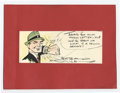 Original Comic Art:Sketches, Chester Gould - Dick Tracy Color Illustration Original Art (undated). A superb fully-painted headshot of everybody's favorit...
