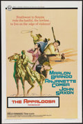 """Movie Posters:Western, The Appaloosa (Western, 1966). One Sheet (27"""" X 41""""). Marlon Brando and John Saxon star in this Western about horse thieves ..."""