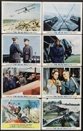 """Movie Posters:War, The Blue Max (20th Century Fox, 1966). Lobby Card Set of 8 (11"""" X14""""). """"I'm afraid it's rather a small medal, but it's the ...(Total: 8 Items)"""