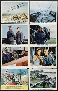 """The Blue Max (20th Century Fox, 1966). Lobby Card Set of 8 (11"""" X 14""""). """"I'm afraid it's rather a small m..."""