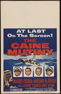 "Movie Posters:War, The Caine Mutiny (Columbia, 1954). Window Card (14"" X 22"").Humphrey Bogart earned a Best Actor Oscar nomination for his rol..."