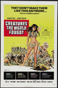 "Movie Posters:Adventure, Creatures the World Forgot (Columbia, 1971). One Sheet (27"" X 41"").Adventure, romance, sex, violence, and religion are all ..."