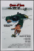 "Movie Posters:War, Cross of Iron (AVCO Embassy Pictures, 1977). One Sheet (27"" X 41"").Sam Peckinpah's masterpiece about the horrors of war foc..."