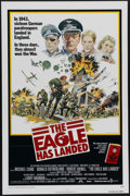 "Movie Posters:War, The Eagle Has Landed (Columbia, 1976). One Sheet (27"" X 41"").Michael Caine, Donald Sutherland, Robert Duvall, Jenny Agutter..."