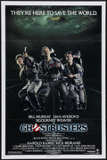 """Movie Posters:Comedy, Ghostbusters (Columbia, 1984). One Sheet (27"""" X 41""""). Dan Aykroyd co-wrote the screenplay and stars with Bill Murray and Sig..."""