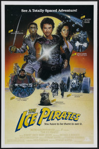 "The Ice Pirates (MGM/UA, 1984). One Sheet (27"" X 41""). This funny and action-packed space opera stars Robert U..."
