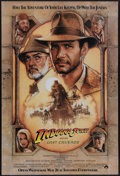 "Movie Posters:Action, Indiana Jones and the Last Crusade (Paramount, 1989). Advance OneSheet (27"" X 41""). Throughout this film, Harrison Ford, Se..."