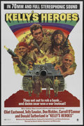 """Movie Posters:War, Kelly's Heroes (MGM, 1970). One Sheet (27"""" X 41""""). Clint Eastwood,Telly Savalas, Don Rickles and Carroll O'Connor star in t..."""