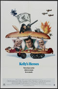 "Movie Posters:War, Kelly's Heroes (MGM, 1970). One Sheet (27"" X 41""). Style ""B."" ClintEastwood, Telly Savalas, Don Rickles and Donald Sutherla..."