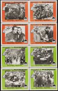 """Movie Posters:Western, The Plainsman (Paramount, R-1958). Lobby Card Set of 8 (11"""" X 14""""). Gary Cooper stars as Wild Bill Hickok and Jean Arthur is... (Total: 8 Items)"""