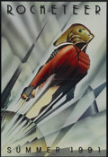 """Movie Posters:Action, The Rocketeer (Buena Vista, 1991). Advance One Sheet (27"""" X 41"""").Inspired by """"King of the Rocket Men"""" and """"Commando Cody,"""" ..."""