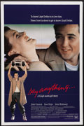 "Movie Posters:Cult Classic, Say Anything (20th Century Fox, 1989). One Sheet (27"" X 41""). Anoble underachiever (John Cusack) and a beautiful valedictor..."