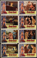 """Movie Posters:Bad Girl, Speed Crazy (Allied Artists, 1959). Lobby Card Set of 8 (11"""" X14""""). Brett Halsey, Yvonne Lime, Charles Willcox and Slick Sl...(Total: 8 Items)"""