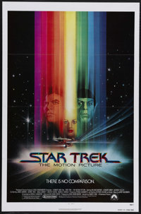 "Star Trek: The Motion Picture (Paramount, 1979). Advance One Sheet (27"" X 41""). The crew of the Starship Enter..."