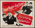 """Movie Posters:Comedy, Two Guys from Milwaukee (Warner Brothers, 1946). Half Sheet (22"""" X 28""""). Comedy about a Balkan prince with two dreams: to me..."""