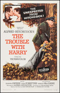 "Movie Posters:Hitchcock, The Trouble with Harry (Paramount, 1955). One Sheet (27"" X 41""). Hitchcock.. ..."