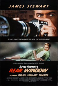 "Rear Window (Universal, R-2006). One Sheet (27"" X 40"") DS. Hitchcock"