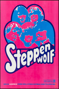 """Steppenwolf (ABC Records/Dunhill, late 1960s). Album Poster (24"""" X 36.5""""). Rock and Roll"""