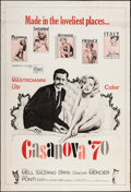 "Movie Posters:Foreign, Casanova '70 & Others Lot (Embassy, 1965). Posters (4) (40"" X 60""). Foreign.. ... (Total: 4 Items)"