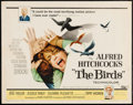 "Movie Posters:Hitchcock, The Birds (Universal, 1963). Half Sheet (22"" X 28""). Hitchcock.. ..."